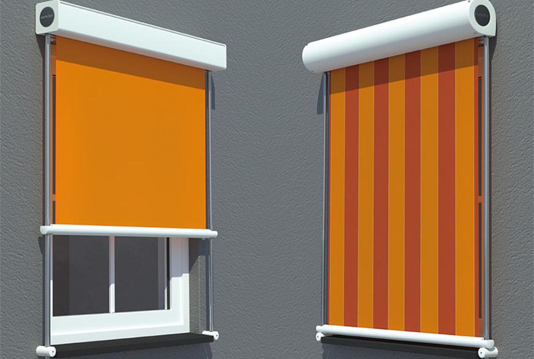 Toldo enrollable exterior stunning cortinas enrollables for Toldos verticales precios
