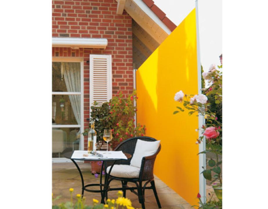 Toldo lateral con despliegue horizontal 190 gravent for Toldo horizontal terraza