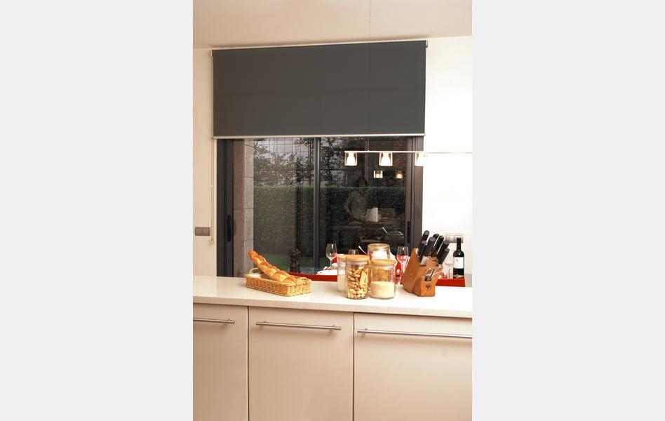cortinas para cocina negras