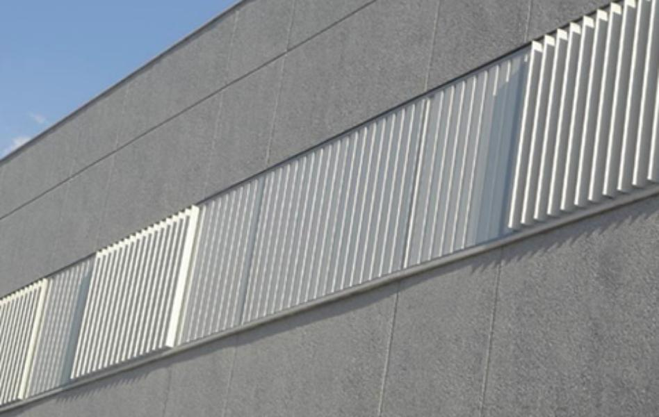 Celosías de aluminio con marco fijo