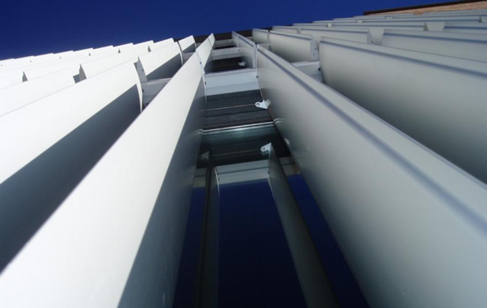 Celosías de aluminio con marco fijo Yebenes