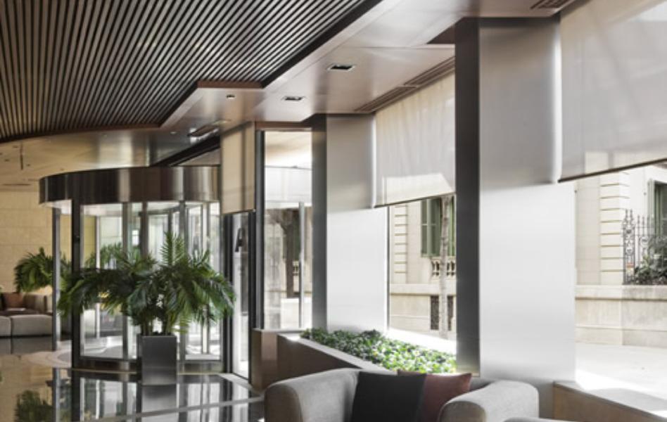 Hotel Fira Palace cortinas enrollables