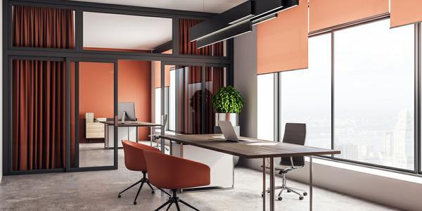 cortinas para oficinas ejecutivas